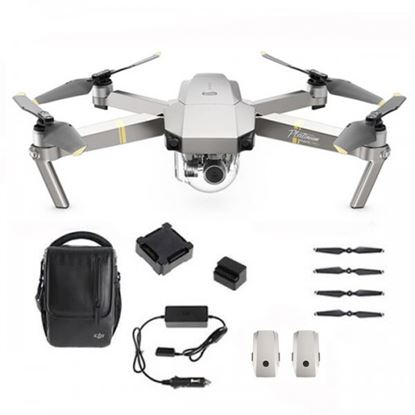 Picture of DJI Mavic Pro Platinum Drone Fly More Combo