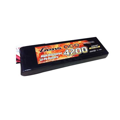 Picture of Gens Ace GA4200-2S25-TRX 4200mAh 7.4v 25C