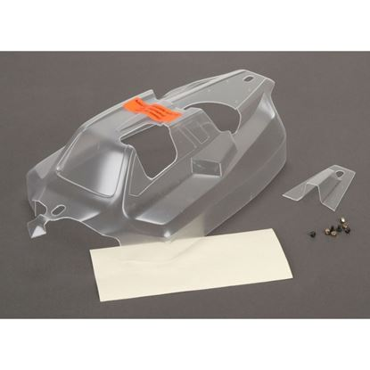 Picture of LOSI TLR240008 Cab Forward Body, Clear: 8IGHT 4.0