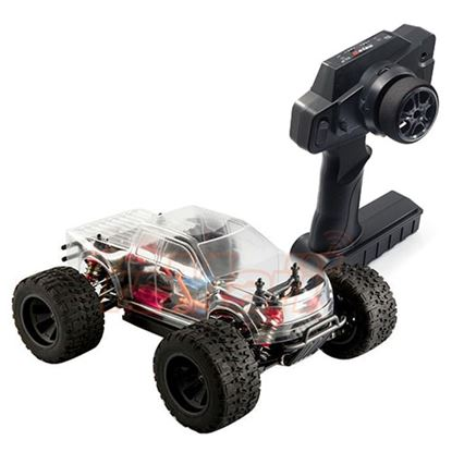 Picture of LC RACING 1/14 RC 4WD Monster Truck RTR (Clear)