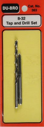 Picture of Du Bro Du-Bro 363 8-32 Tap & Drill Set