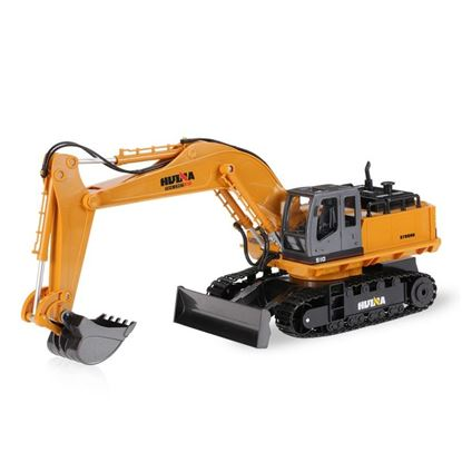 Picture of Huina Toys 1510 2.4G 11Ch RC 1/16 Excavator