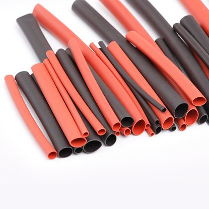 Picture of Heatshrink bundle M-HST-2 2mm 0.5M of red & black