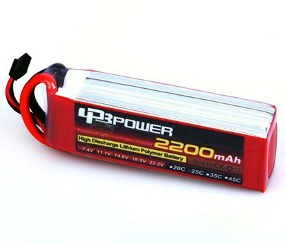 Picture of LPB Power 6.6V 2200mAh TX Battery LIFE (JST Plug)