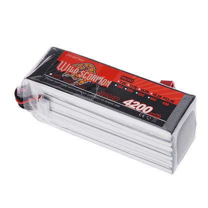Picture of Wild Scorpion 2S 7.4v 4200mAh 30C XT-60 Plug