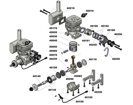 Picture for category 50/55cc Engine