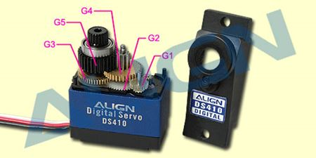 Picture for category Align Servo Gear Sets