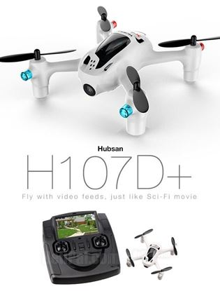 Picture of Hubsan X4 H107D+ FPV 2.4GHz 4CH RC Quadcopter w 2MP Camera