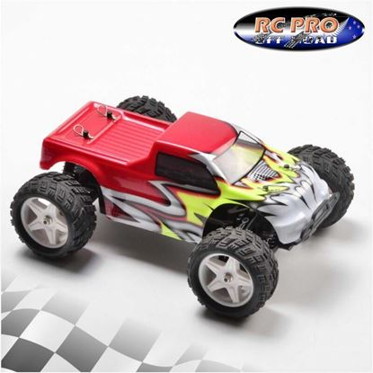 Picture of RCPRO RCPMT18-R 1/18 4WD Brushed Monster Truck
