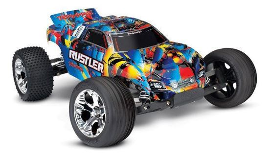 Picture of Traxxas 37054-4 1/10 Rustler RTR Hawaiian w/XL-5 **Special Edition**