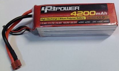 Picture of LPB Power 3S 11.1v 4200mAh 35C XT-60 Plug