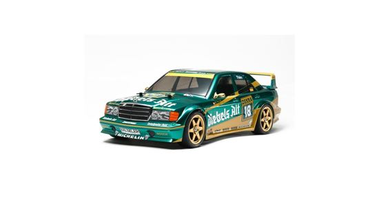 Picture of Tamiya 58638 1/10th TT-01E Zakspeed Mercedes-Benz 190 E Evo.II Kit