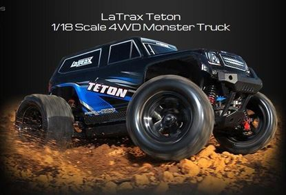 Picture of Traxxas 76054-1 LaTrax - Teton 1/18 Scale 4WD Monster Truck