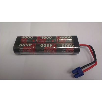 Picture of Enrichpower 7.2V NiMh SC4600 Stick Battery pack w/EC3 Lead