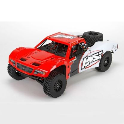 Picture of LOSI  LOS03008T1 Baja Rey: 1/10-Scale AVC RTR 4WD Trophy Truck(Red)