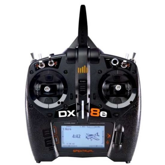 Picture of DX8e SPMR8100 8-Channel DSMX Transmitter Only