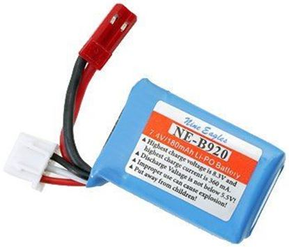 Picture of Nine Eagles NE4933001 2S 7.4V 180mAh Lipo Battery Jst plug