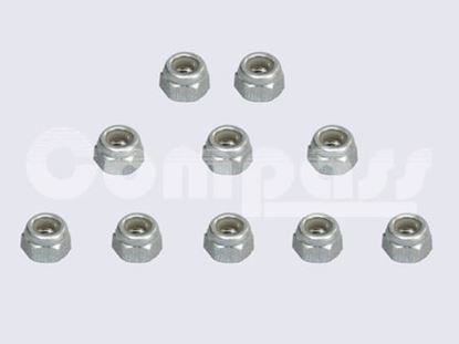 Picture of KUZA KAG02606 Stainless Steel Nylon/Nyloc nut M6