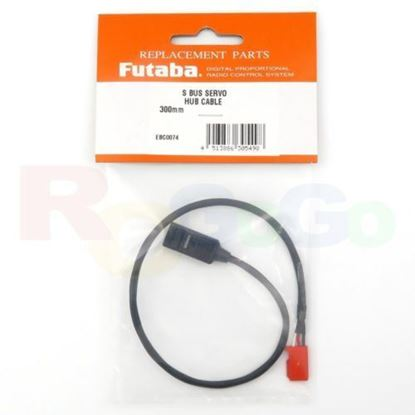"Picture of Futaba EBC0074 SBHUB  3.9"" S Bus Servo Hub Cable 300m"