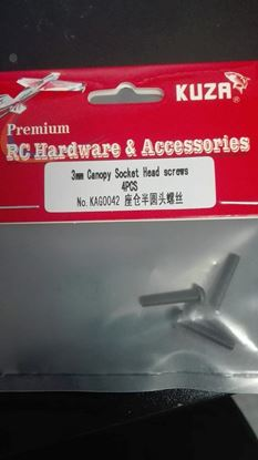Picture of Kuza KAG0042 Canopy Socket Head Screws 3mm
