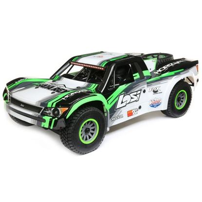 Picture of LOSI LOS05013T1 Super Baja Rey: 1/6 4wd Electric Desert Truck RTR Black/Green