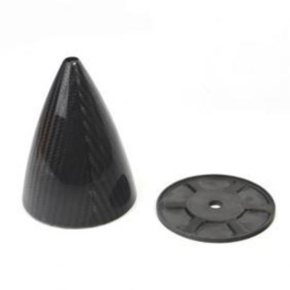 Picture of Carbon Fiber Spinner with Carbon Fiber Back plate 2.25″ (57.2mm)