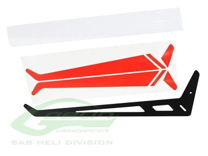Picture of SAB H0868-S - Carbon Fiber Tail Fin - Goblin Thunder