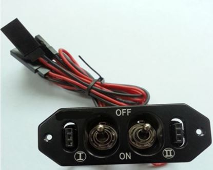 Picture of FUSESW-2 Middle duty switch with fuel dot