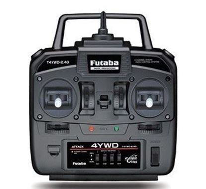 Picture of Futaba 4CH 4YWD 2.4GHz with R214GF-E Receiver