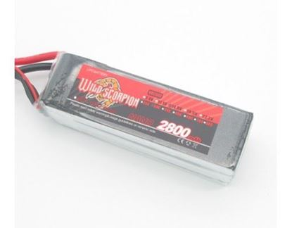 Picture of Wild Scorpion 4S 14.8v 2800mAh 45C XT-60 Plug