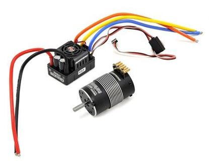 Picture of Hobbywing 81040201 Xerun SCT Pro Sensored Brushless ESC/Motor Combo (4000kV)