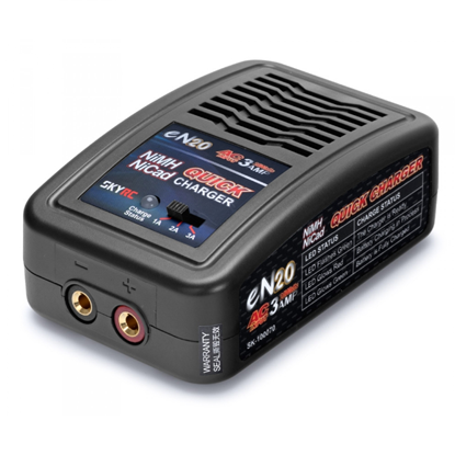 Picture of SkyRC SK-100070-02 eN20 NiMH Charger (4-8 Cells NiMh Batteries 1-3A Charge Rate)