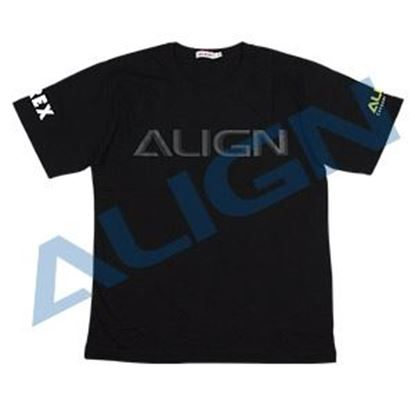 Picture of HOC00219-8 Flying T-shirt (HELI PILOT)-Black (4L)