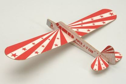"Picture of Jet Boy J3 Piper 12"" Balsa Hand Launch Glider"
