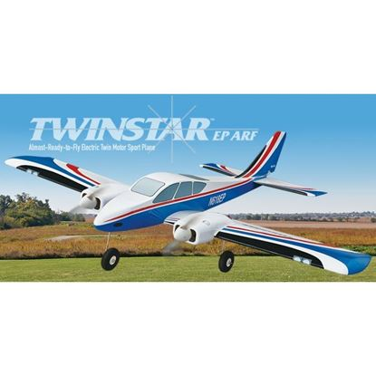 Picture of Great Planes GPMA1609 Twinstar EP ARF 47.5""