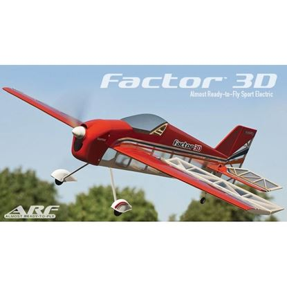 Picture of Great Planes GPMA1552 Factor 3D 1M Sport EP ARF 38""