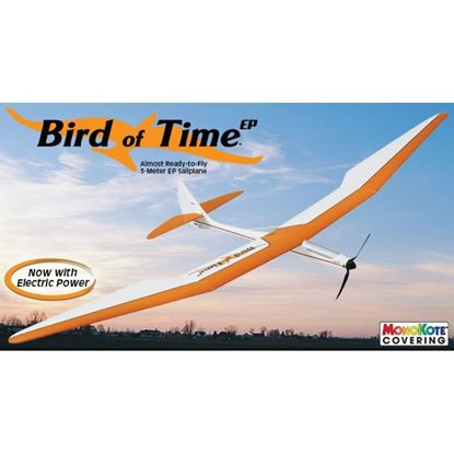 Picture of Great Planes GPMA1053 Bird Of Time EP Sailplane ARF 118""