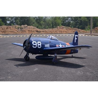 Picture of Seagull SEA324B Seagull Grumman F8F-2, Bearcat, Navy (Blue Corsair) - 71 inches (33cc) NEW 2018- INDENT