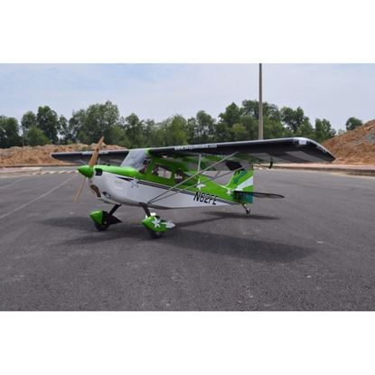 """Picture of Seagull SEA314G-INDENT Decathlon 50cc - 3D - 122"""" - Green - (2 boxes Wing and fuselage)- INDENT"""