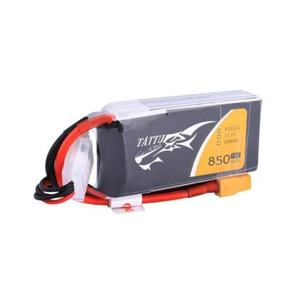 Picture of Tattu 14.8v 4s 850mAh 75c  XT60 plug