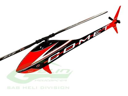 Picture of SAB SG723 COMET Black/Red