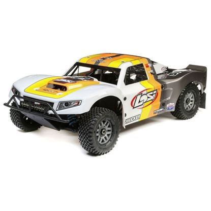 Picture of LOSI LOS05014T2 1/5 5IVE-T 2.0 4wd SCT Gas BND: Grey/Orange/White