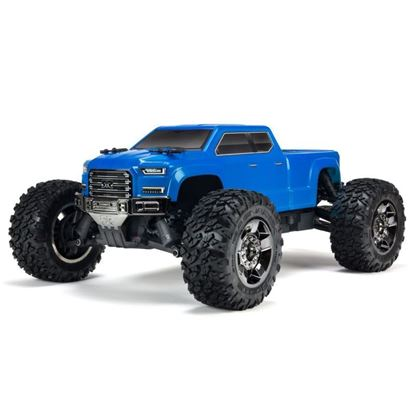 Picture of Arrma ARA102711 1/10 BIG ROCK CREW CAB 4x4 3S BLX Brushless RTR, Blue