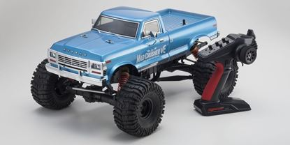 Picture of Kyosho 34254B VE 1/8 Mad Crusher VF BL RTR