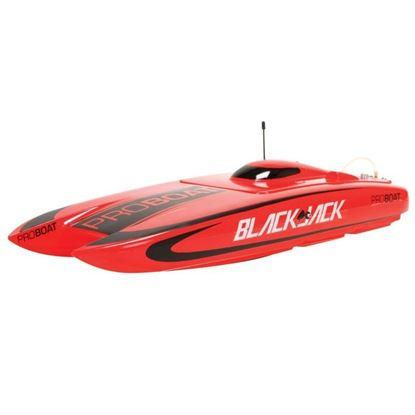 Picture of Proboat PRB08007 Blackjack 24-inch Catamaran Brushless:RTR
