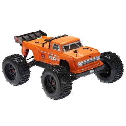 Picture of Arrma AR106033 2018 1/8 Outcast Monster Stunt Truck 6S 4WD Orange RTR