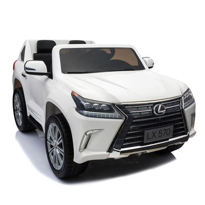 Picture of Mini Cars MCLX01 Lexus LX570 – 2-seater wide body rubber tyres