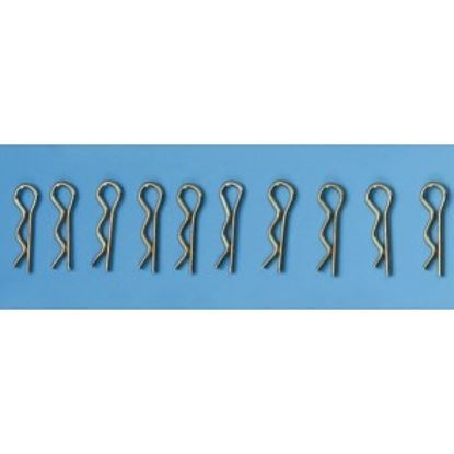 Picture of Ming Yang 226 Body Clips Large (28 x 8mm) 10 per pk