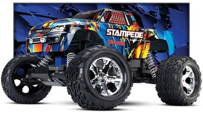 Picture of Traxxas 36054-4 Stampede XL5 Monster Truck RTR