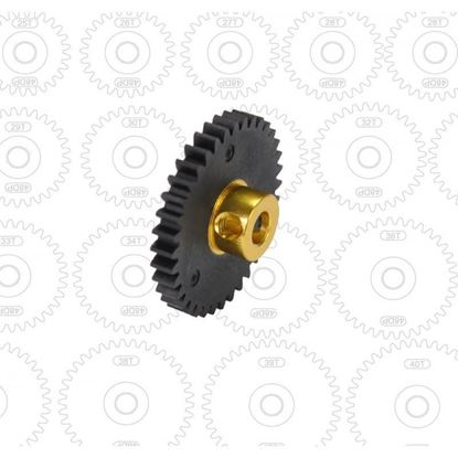 Picture of Arrowmax AM-448035 Low Friction Stock Racing Pinion Gear 48P 35T (SL)